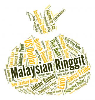 Free Stock Photo of Malaysian Ringgit Represents Currency Exchange And Coinage