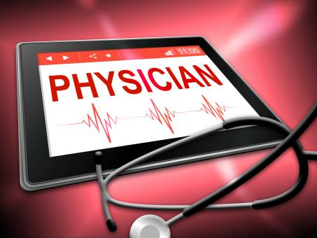 Free Stock Photo of Physician Tablet Indicates General Practitioner And Md