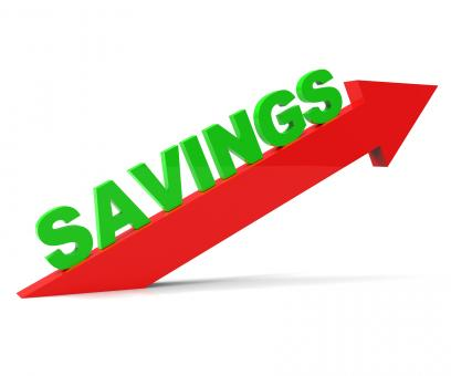 Free Stock Photo of Increase Savings Shows Upward Improve And Improvement