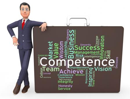 Free Stock Photo of Competence Words Represents Capability Aptitude And Adeptness