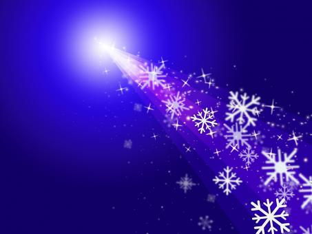 Free Stock Photo of Snowflake Stars Indicates New Year And Congratulation