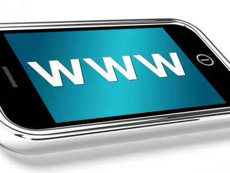 Free Stock Photo of Www Shows Online Websites Or Mobile Internet