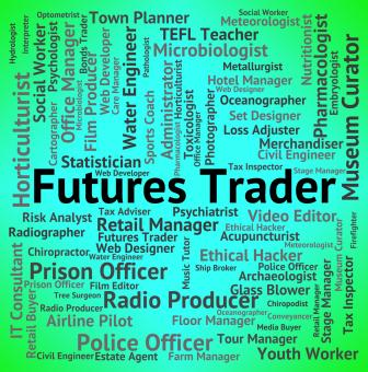 Free Stock Photo of Futures Trader Represents Hire Trades And Job