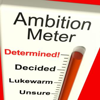 Free Stock Photo of Ambition Meter Showing Motivation And Drive