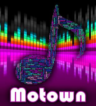 Free Stock Photo of Motown Music Represents Sound Track And Audio