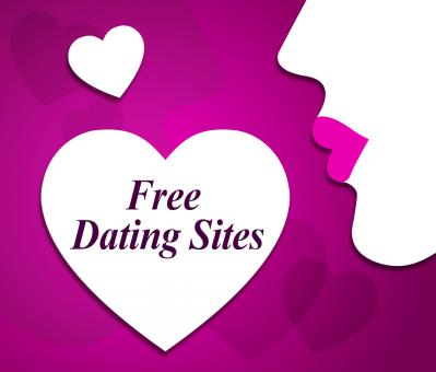Free Stock Photo of Free Dating Sites Represents No Charge And Date