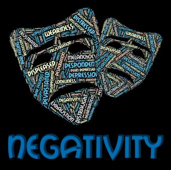 Free Stock Photo of Negativity Word Indicates Negation Unresponsive And Rejecting