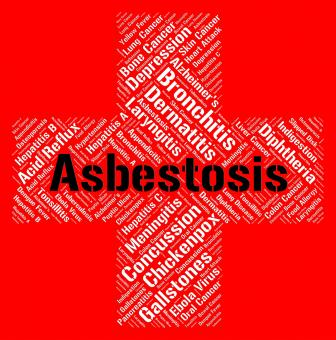 Free Stock Photo of Asbestosis Word Means Ill Health And Afflictions