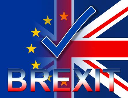Free Stock Photo of Brexit Tick Shows British Yes And Kingdom