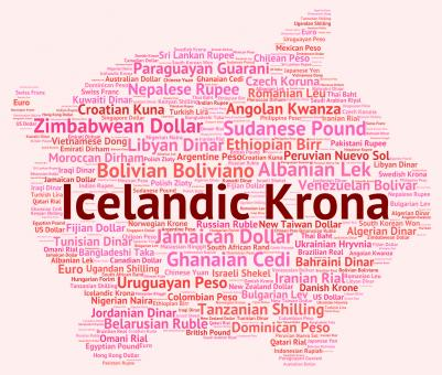 Free Stock Photo of Icelandic Krona Means Exchange Rate And Broker