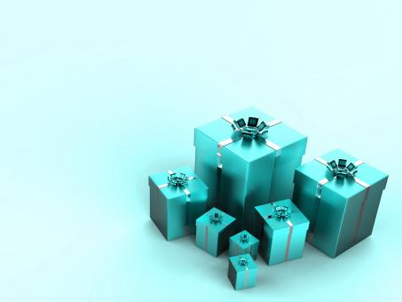 Free Stock Photo of Birthday Copyspace Shows Gift Box And Celebrating