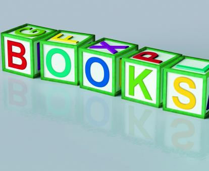 Free Stock Photo of Books Blocks Shows Novels Non-Fiction And Reading