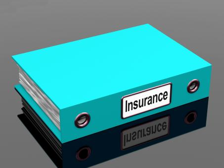 Free Stock Photo of Insurance Policy Coverage File For Policies