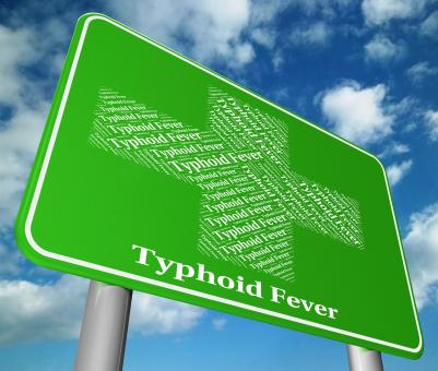 Free Stock Photo of Typhoid Fever Represents Symptomatic Bacterial Infection And Aff