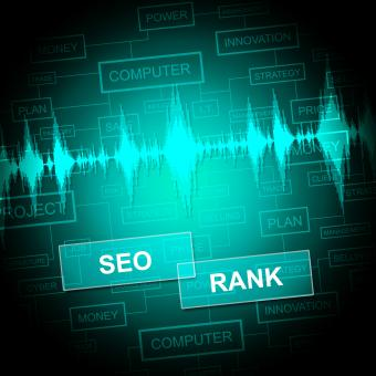 Free Stock Photo of Seo Rank Means Search Engines And Business