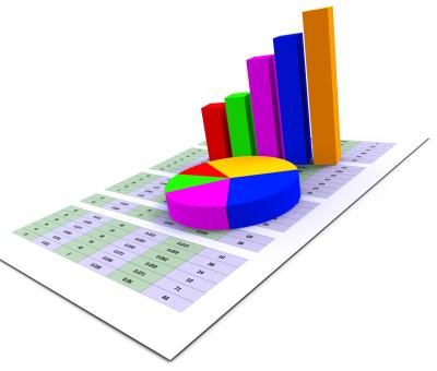 Free Stock Photo of Pie Chart Indicates Stat Graphics And Infochart