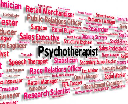 Free Stock Photo of Psychotherapist Job Indicates Disturbed Mind And Delusions