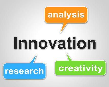 Free Stock Photo of Innovation Words Shows Investigate Researcher And Investigation