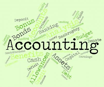 Free Stock Photo of Accounting Words Indicates Balancing The Books And Accountant
