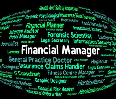 Free Stock Photo of Financial Manager Indicates Employee Occupations And Profit