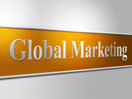 Free Stock Photo of Global Marketing Represents Selling Earth And Worldly