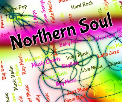 Free Stock Photo of Northern Soul Means Rhythm And Blues And Atlantic
