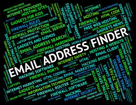 Free Stock Photo of Email Address Finder Means Send Message And Addresses