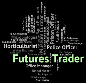 Free Stock Photo of Futures Trader Means Commodity Commerce And Commodities