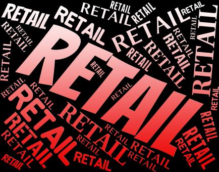 Free Stock Photo of Retail Word Represents Sell Consumerism And Marketing