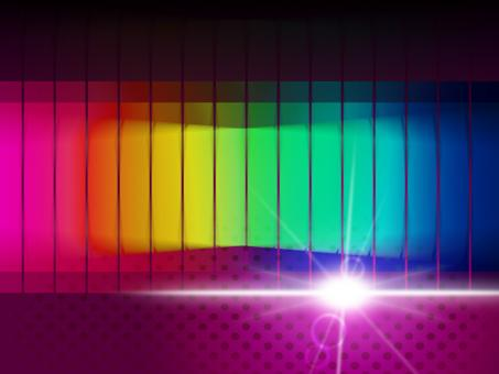 Free Stock Photo of Glow Spectrum Shows Color Guide And Chromatic