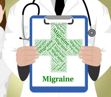 Free Stock Photo of Migraine Word Represents Ill Health And Affliction