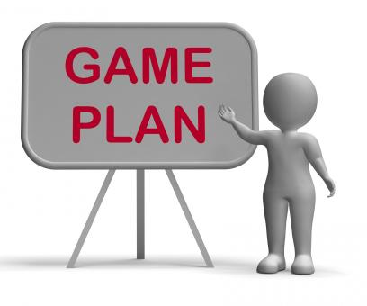 Free Stock Photo of Game Plan Whiteboard Means Scheme Approach And Planning