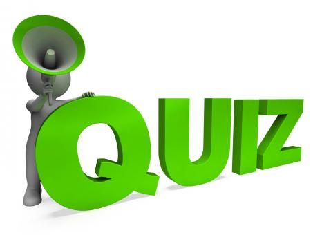 Free Stock Photo of Quiz Character Means Test Questions Answers Or Questioning