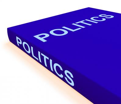 Free Stock Photo of Politics Book Shows Books About Government Democracy