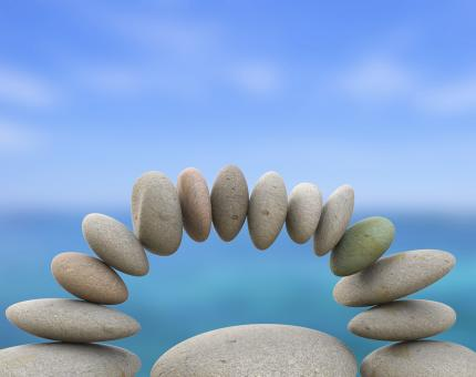 Free Stock Photo of Spa Stones Represents Perfect Balance And Balanced