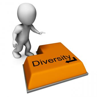 Free Stock Photo of Diversity Key Means Multi-Cultural Range Or Variance