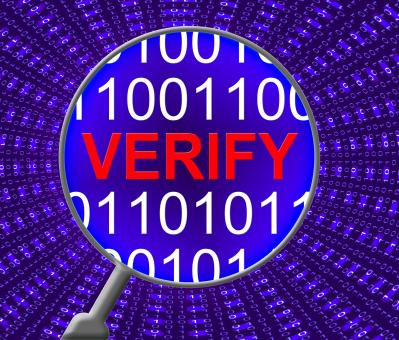 Free Stock Photo of Verify Security Represents Genuine Computer And Encryption