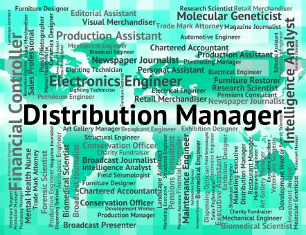Free Stock Photo of Distribution Manager Represents Supply Chain And Administrator