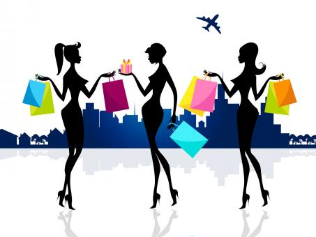 Free Stock Photo of Shopping Shopper Shows Retail Sales And Adults