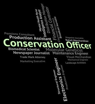 Free Stock Photo of Conservation Officer Means Go Green And Administrators