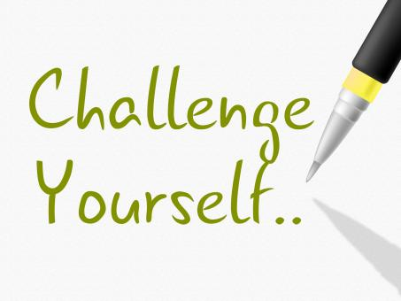 Free Stock Photo of Challenge Yourself Indicates Persistence Determined And Motivate
