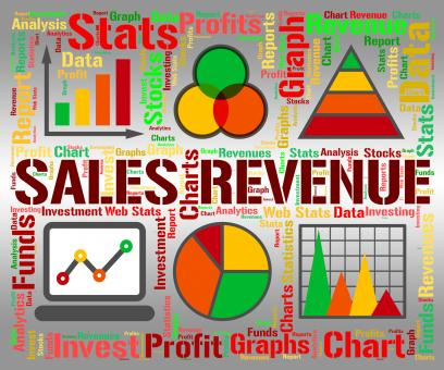 Free Stock Photo of Sales Revenue Represents Profits Rebate And Save