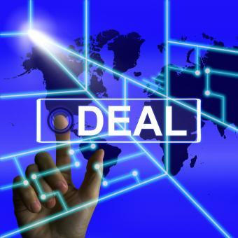 Free Stock Photo of Deal Screen Refers to Worldwide or International Agreement