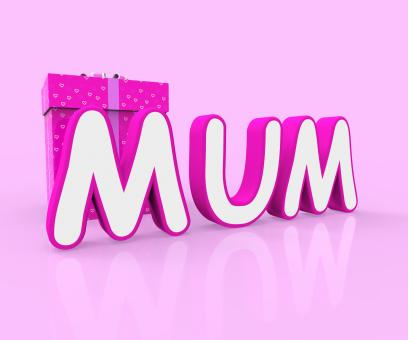 Free Stock Photo of Mum Giftbox Indicates Presents Celebrate And Wrapped