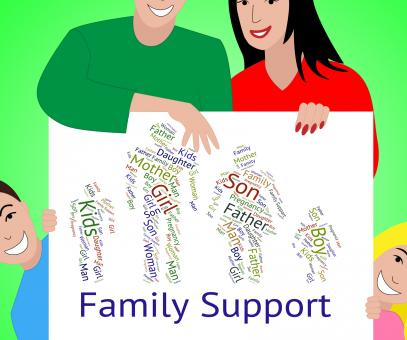 Free Stock Photo of Family Support Represents Blood Relation And Advice