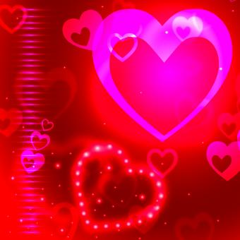 Free Stock Photo of Glow Background Indicates Valentine Day And Backgrounds