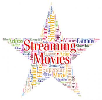 Free Stock Photo of Streaming Movies Represents Picture Show And Cinema