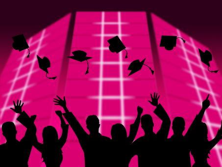 Free Stock Photo of Education Graduation Shows Educating Graduates And Graduate