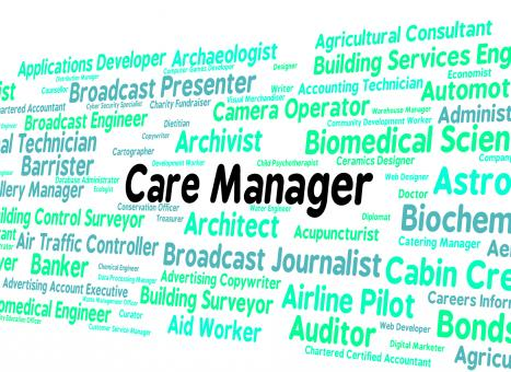 Free Stock Photo of Care Manager Represents Work Social And Director