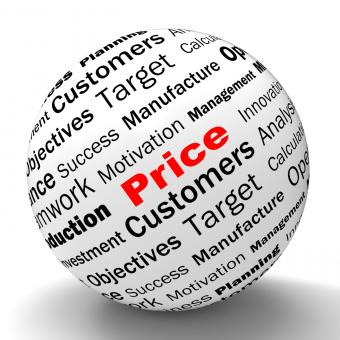 Free Stock Photo of Price Sphere Definition Means Promotions And Savings